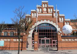 De EuroClub is gevestigd in het Slagthuset.