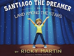Cover van het prentenboek Santiago the Dreamer.