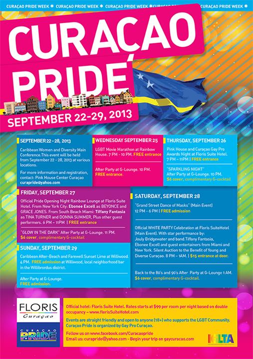 Week vol activiteiten voor de Curaçao Pride.