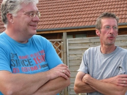 RG Rudolf (l) en René