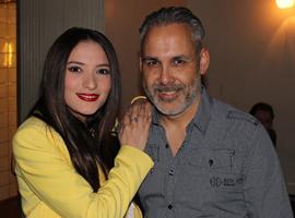 Barry met zijn favoriet Dilara uit Azerbeidzjan