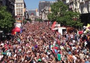 Gay Pride Brussel