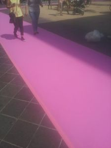 Roze Zaterdag loper