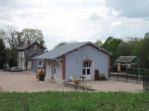 Glasatelier in Louroux de Bouble