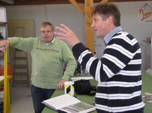 Henk (links) en Hans (rechts)