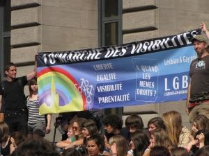 Straatsburg Gay pride universiteitsterrein