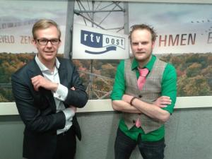 Onno Fiechter (l) en Ben van Veen