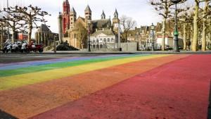 Regenboog pad Maastricht