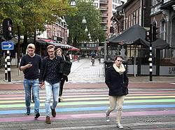 Regenboogpad Tilburg foto gemeente Tilburg
