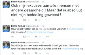 AA Gent twitter