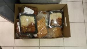 asielzoekers voedsel geweigerd