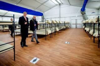 Willem -Alexander in Ter Apel