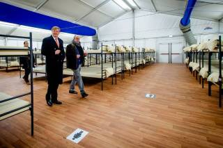 Willem -Alexander in Ter Apel