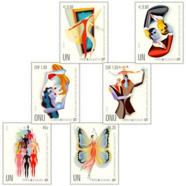 UN Postzegel 01