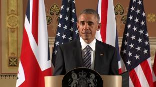 Obama in Londen