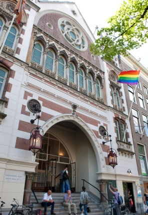 Keizersgrachtkerk Amsterdam ® Daan Stringer - GayPride kerkdienst