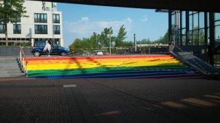 Regenboogtrap Zoetemeer