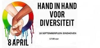 Hand in hand actie eindhoven