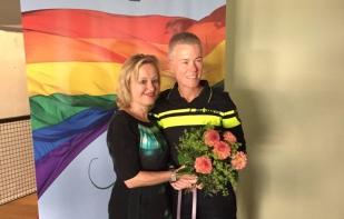 Ellie Lust wint Jos Brink Prijs 2017 foto Linda Buitenweg Twitter