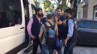 arrestatie camerman Bram Jansen Istanbul