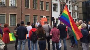 Petitie niet gay genoeg aanbieding Den Haag 0509 2017