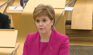 Nicola Sturgeon premier schotland