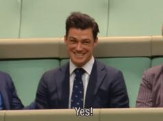Huwelijksaanzoek parlement