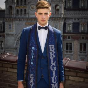 Mr Gay Belgium Jaimie Deblieck foto Johan Cansse