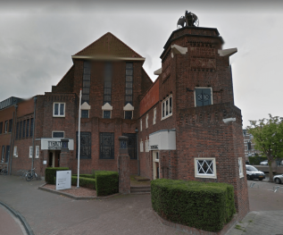 Rechtbank zittingszaal Leiden